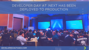 Developer Day at .NEXT has been deployed to production