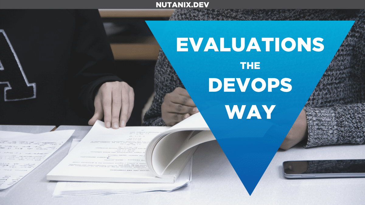 Evaluations the DevOps Way