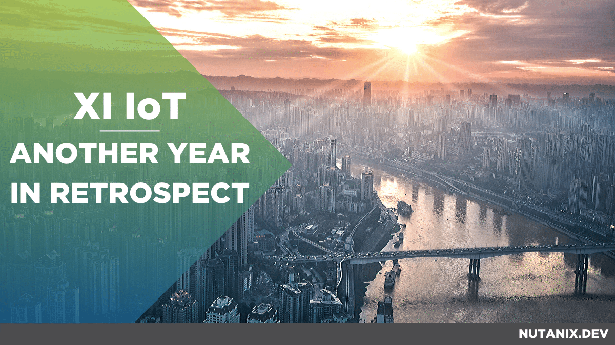 Xi IoT : Another year in retrospect