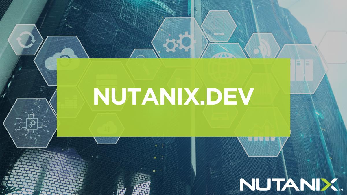 nutanix.dev